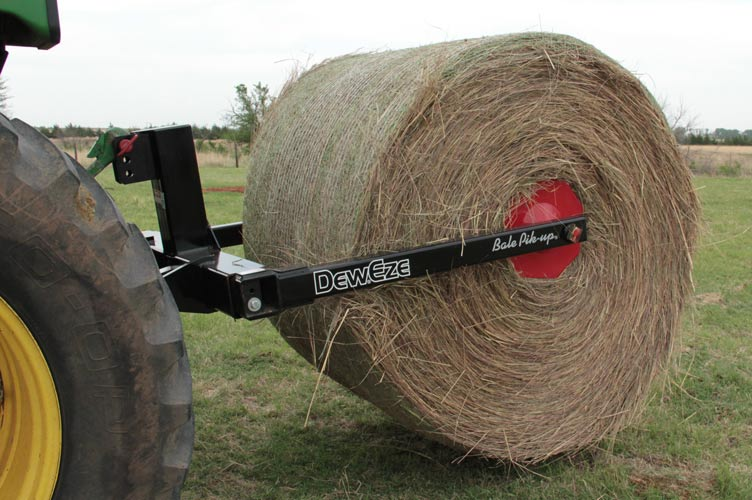 Bale Loader Technology For Tractors And Skid Steers By Deweze