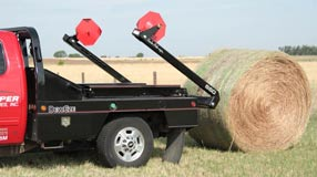 DewEze Two-bale hay loader