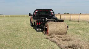 Two-bale hay loader