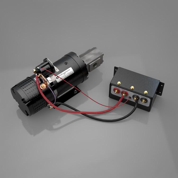 E/H Kit | DewEze | Hydraulic Bale Spike Wiring Diagram |  | DewEze