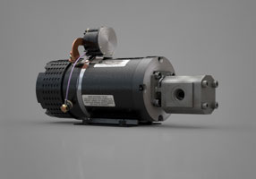 Electric over hydraulic pump