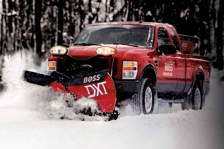 hydraulics designed for plow and spreader operations by deweze snow ice removal kits